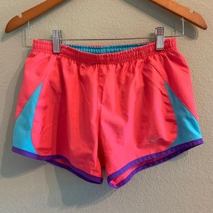 Women's Nike Dri Fit Running Shorts Pink Size XS